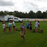 Camp Sack Race